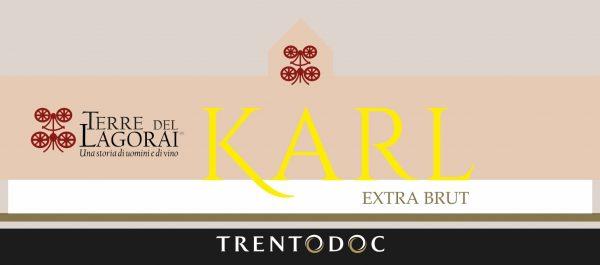 etichetta Karl